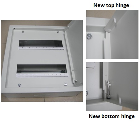 New Iu Metal Din Rail Enclosure Hager